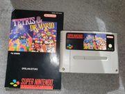SNES Tetris Dr Mario mit