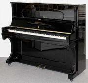 Klavier Grotrian-Steinweg 128 schwarz poliert
