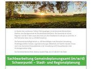 Sachbearbeitung Gemeindeplanungsamt m w d
