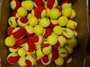 Über 1 000 gebrauchte Tennisbälle