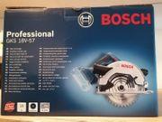Bosch GKS 18V-57 Pro Nagelneu