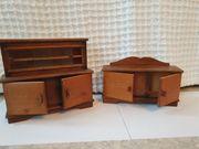 Holzmöbel Miniatur für Puppenhaus