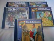 5 Hörspiel-CDs TKKG