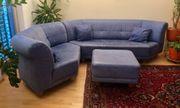 Rolf Benz Echtleder-Sofa