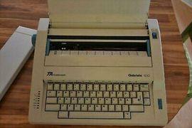 Biete elektrische Schreibmaschine und diverse: Kleinanzeigen aus Tübingen Innenstadt - Rubrik Büromaschinen, Bürogeräte