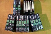 VHS Videokassetten 23 Stk verschiedene