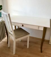 Biete individuellen Schreibtisch Stuhl