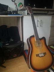 12 Seitige Western Gitarre