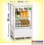 Kühlvitrine Mini Kuchenvitrine Kühltheke Tischkühlvitrine