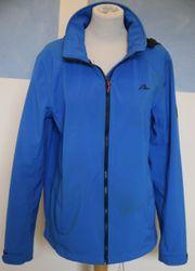 Softshell-Jacke blau Tecwear Größe 52