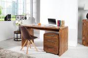 NEU Schreibtisch Goa 150cm Sheesham