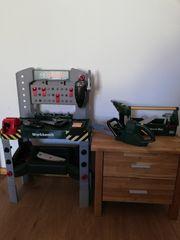 Werkbank mit sound