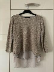 Damen Pullover mit Bluse Größe
