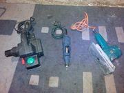 Skil1500 Elektrohobel DN-46 Vibrationsschleifer FCT