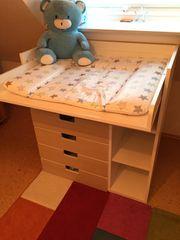 Baby-Wickelkommode weiß neuwertig PREIS REDUZIERT