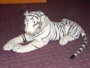 Weißer Tiger Plüsch