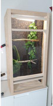 OSB Holz Terrarium zu verkaufen