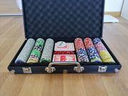 Pokerset Alu Pokerkoffer