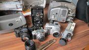 Foto und Filmkamera Konvolut für