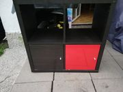 Ikea kallax Regal schwarz