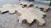 Holzscheiben TROCKEN Akazie