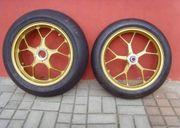 Aluschmiedefelgensatz Gold NEU 16 5