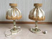 2 Nachttischlampen onyx retro Lampen