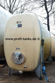 P76 gebrauchter 6000L Polyestertank GFK