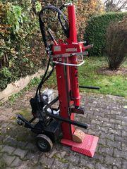 Oehler Holzspalter 10T mit Benzinmotor