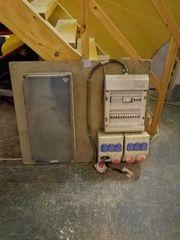 Baustrom Verteiler mit Platz für