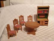 Tolle ältere Puppenstubenmöbel Puppenhausmöbel von