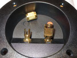 Boxen, Lautsprecher, Kopfhörer - 4 St Hochwertige Lautsprecherterminals Lautsprecheranschlüsse
