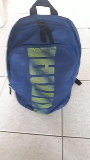 Puma Rucksack blau Bagpacker Sportbeutel
