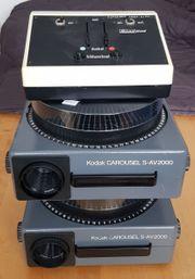 2x Kodak Carousel S-AV 2000