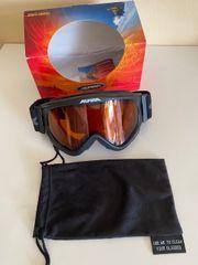 Alpina Skibrille Neu unbenutzt