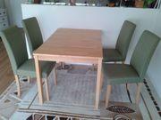 Esstisch mit 4 Stühlen aus