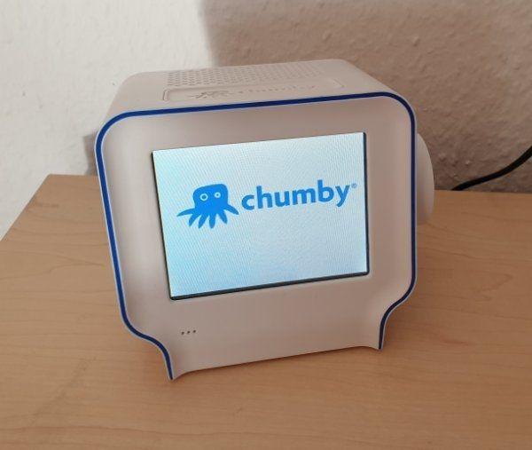 Chumby One Internetradio Wecker KULT