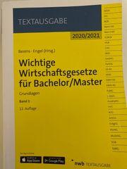 Wichtige Wirtschaftsgesetze für Bachelor Master
