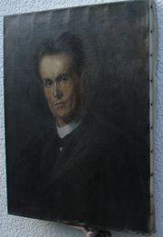 Antiquität Ölbild 1906 sign M