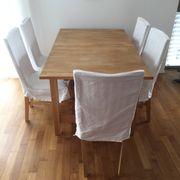 Norden Esstisch mit 6 Norrnäs