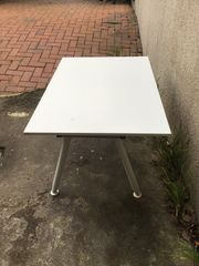 Ikea Schreibtisch mit Gestell höhenverstellbar