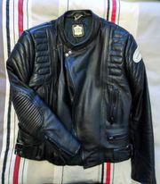 Motorrad-Lederjacke - Gr 48