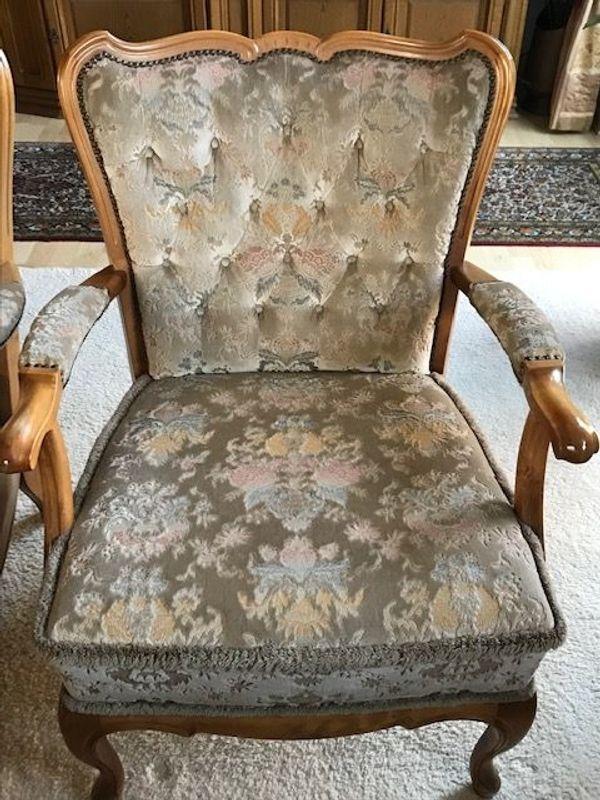 Chippendale Sessel - insgesamt 4 Sessel