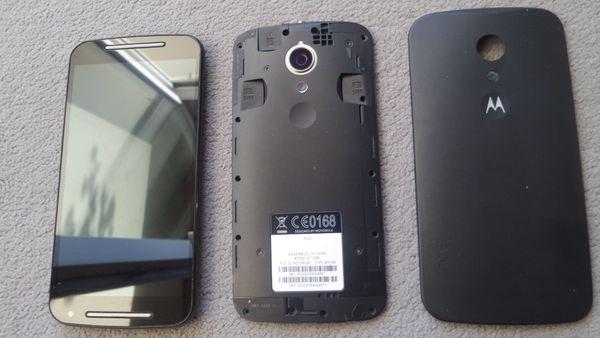 Motorola Moto G2 schwarz -defekt-