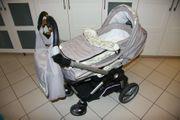 Kombi-Kinderwagen Teutonia BeYou mit Zubehör