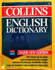 Collins English Dictionary - Hardcover