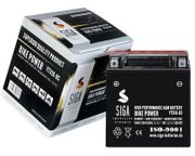 SIGA Motorradbatterie AGM 16Ah
