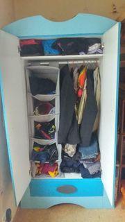 IKEA Kleiderschrank für Kinderzimmer - Blau