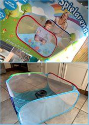 Bällebad mobiler Laufstall zu verkaufen-