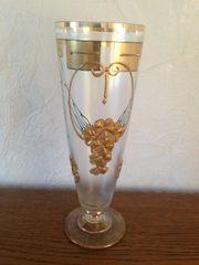 Original Glas mit Stil Goldrand